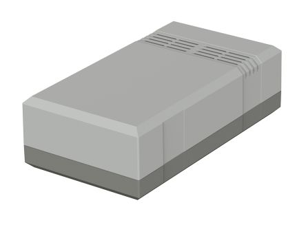 Bopla Elegant, Grey Polystyrene Enclosure, IP40, 150 x 82 x 45mm