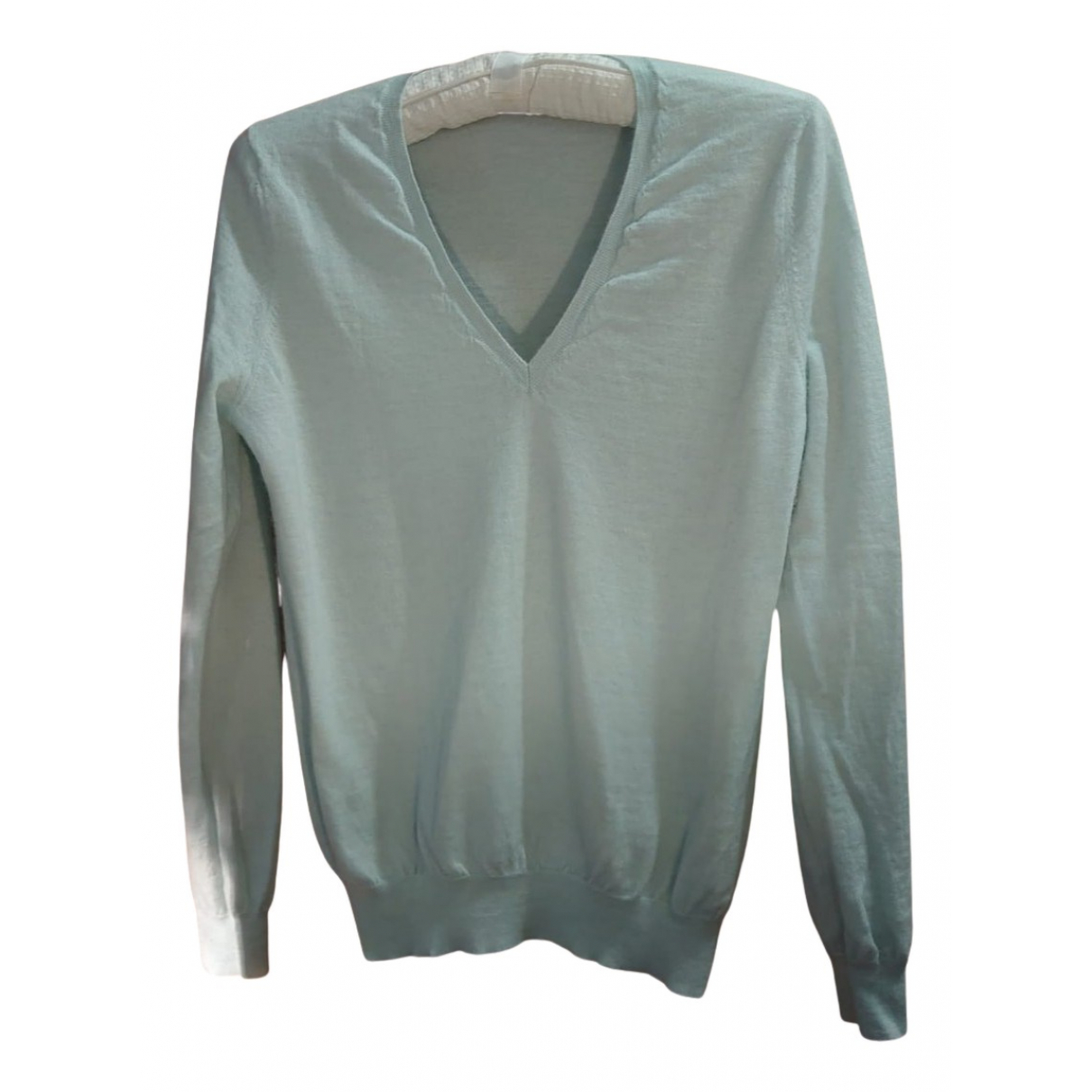 Eric Bompard N Blue Cashmere Knitwear for Women M International