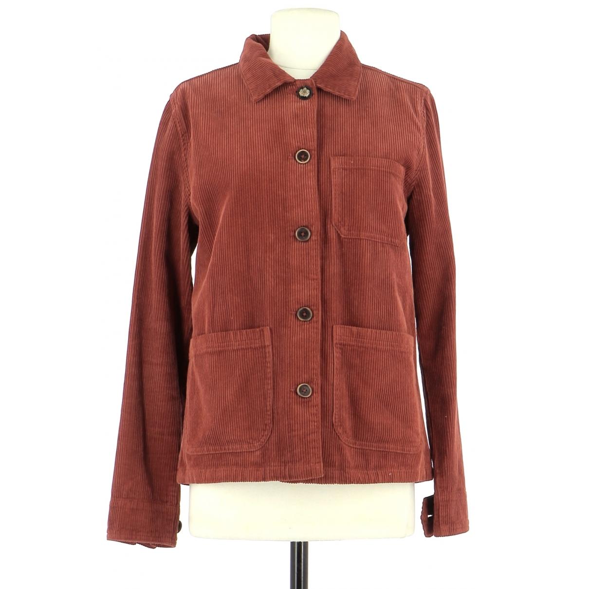 Mkt Studio \N Brown Cotton jacket for Women 36 FR