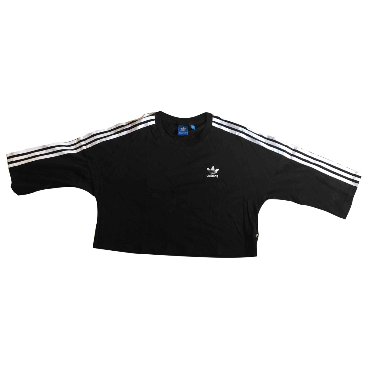 Adidas \N Black Cotton  top for Women 44 IT