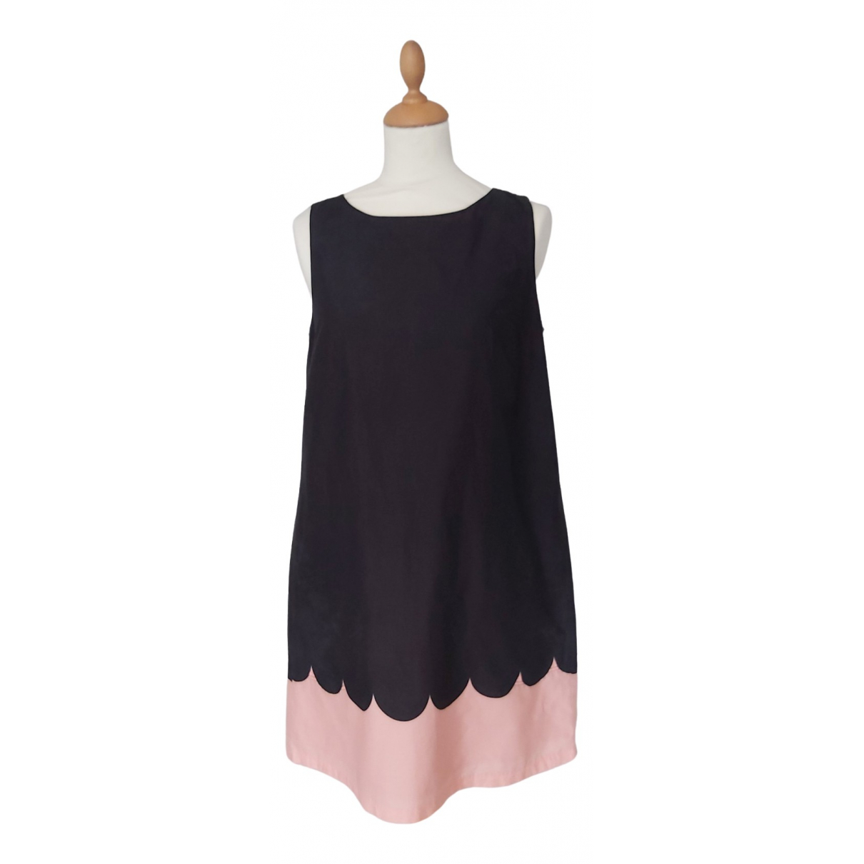 Marimekko \N Black Cotton dress for Women 38 FR