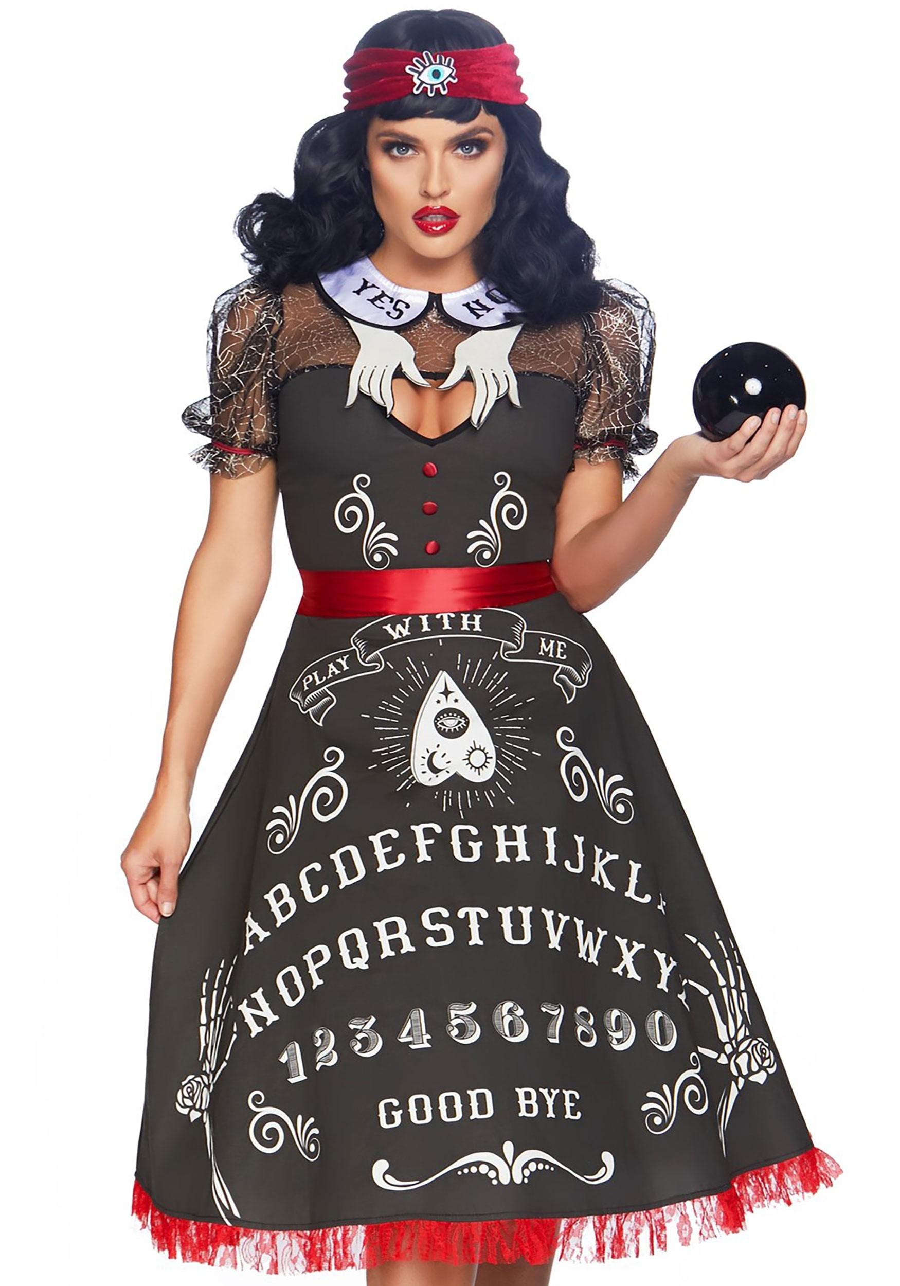 Spooky Board Beauty Costume for Women