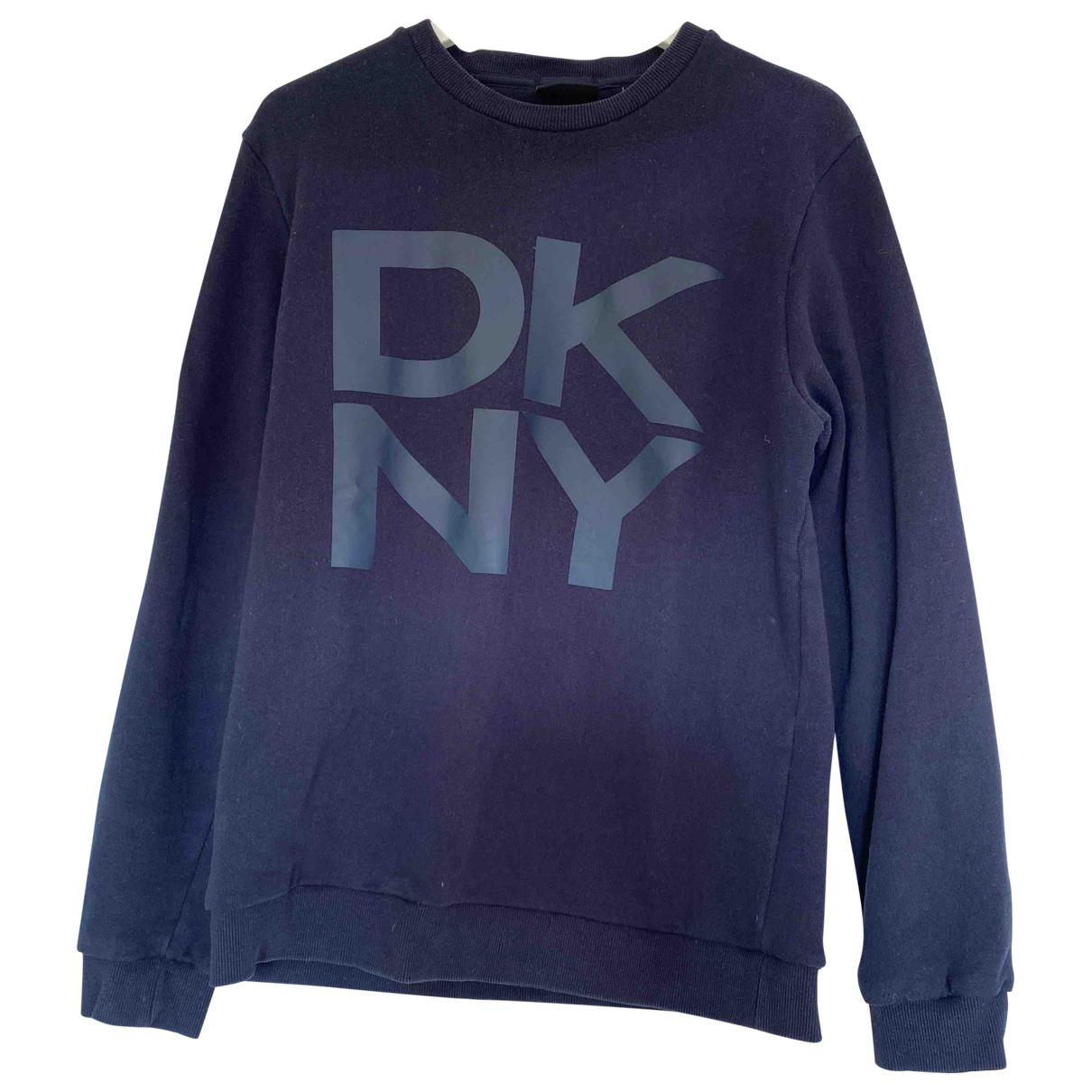 Dkny \N Pullover.Westen.Sweatshirts  in  Blau Baumwolle