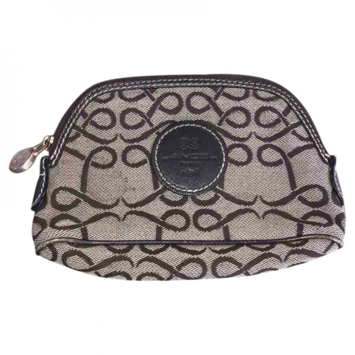 Lancel Daligramme Brown Cloth Purses, wallet & cases for Women \N