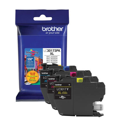 Brother LC30173PKS Original Ink Cartridge High Yield C/M/Y