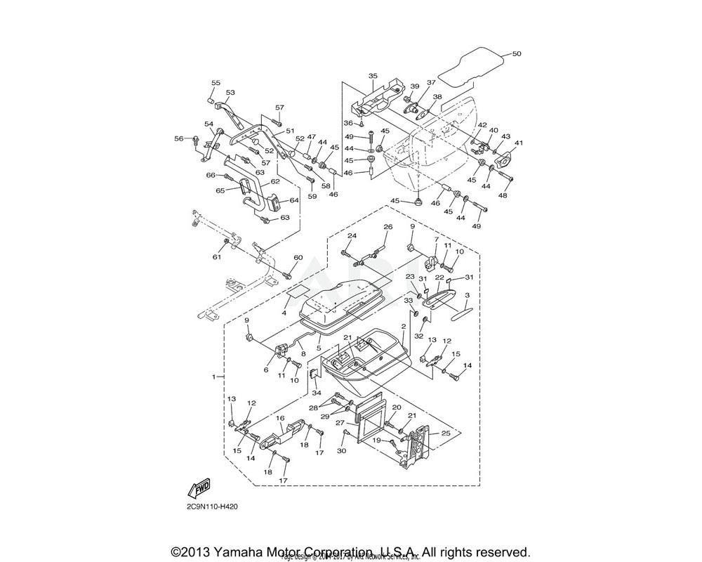 Yamaha OEM 4XY-W2843-00-00 LOCK ASS'Y 3