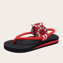 Flower Patch Thong Sandals