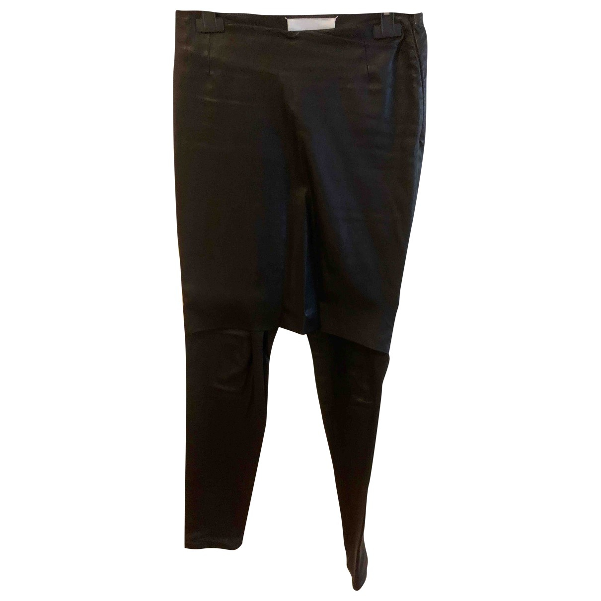 Pantalon recto de Cuero Maison Martin Margiela