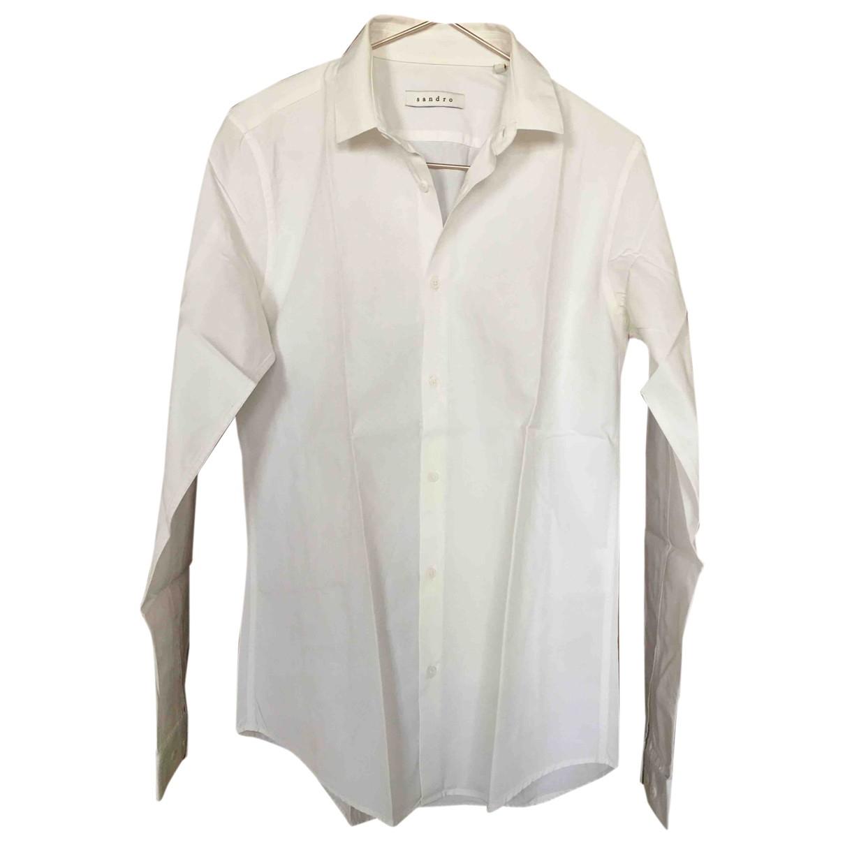 Sandro \N Hemden in  Weiss Baumwolle