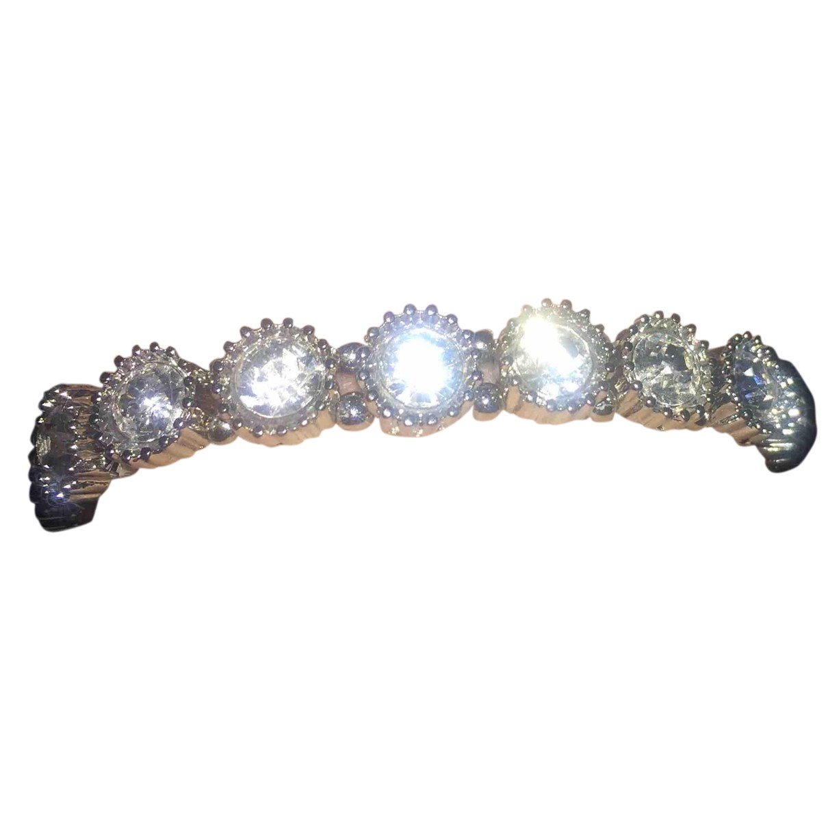 Non Signé / Unsigned N Silver Metal bracelet for Women N