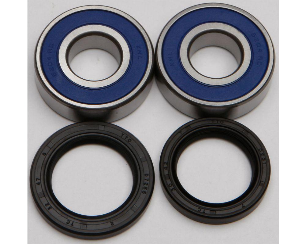 All Balls 25-1254 Wheel Bearing & Seal Kit Kawasaki Zx750 1989-1990