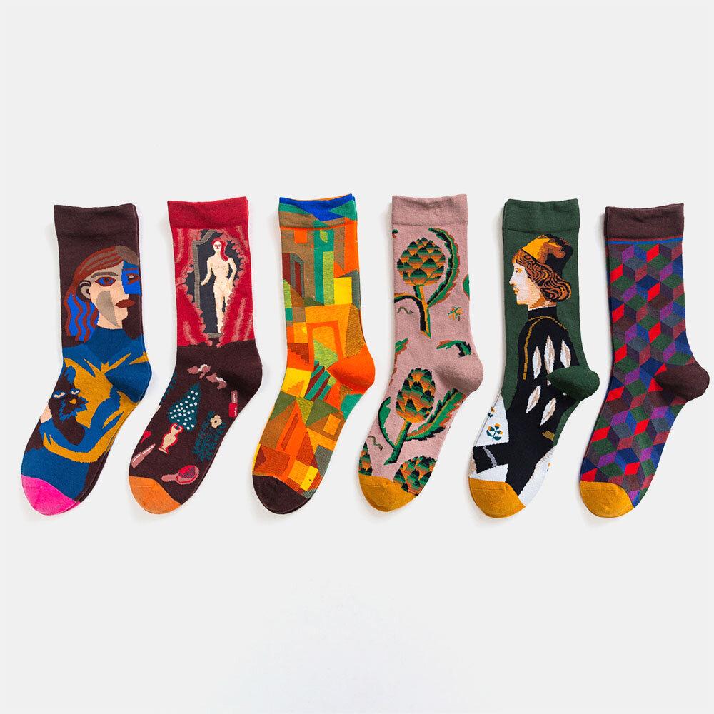 British Style Retro All-Match Socks Cotton Socks