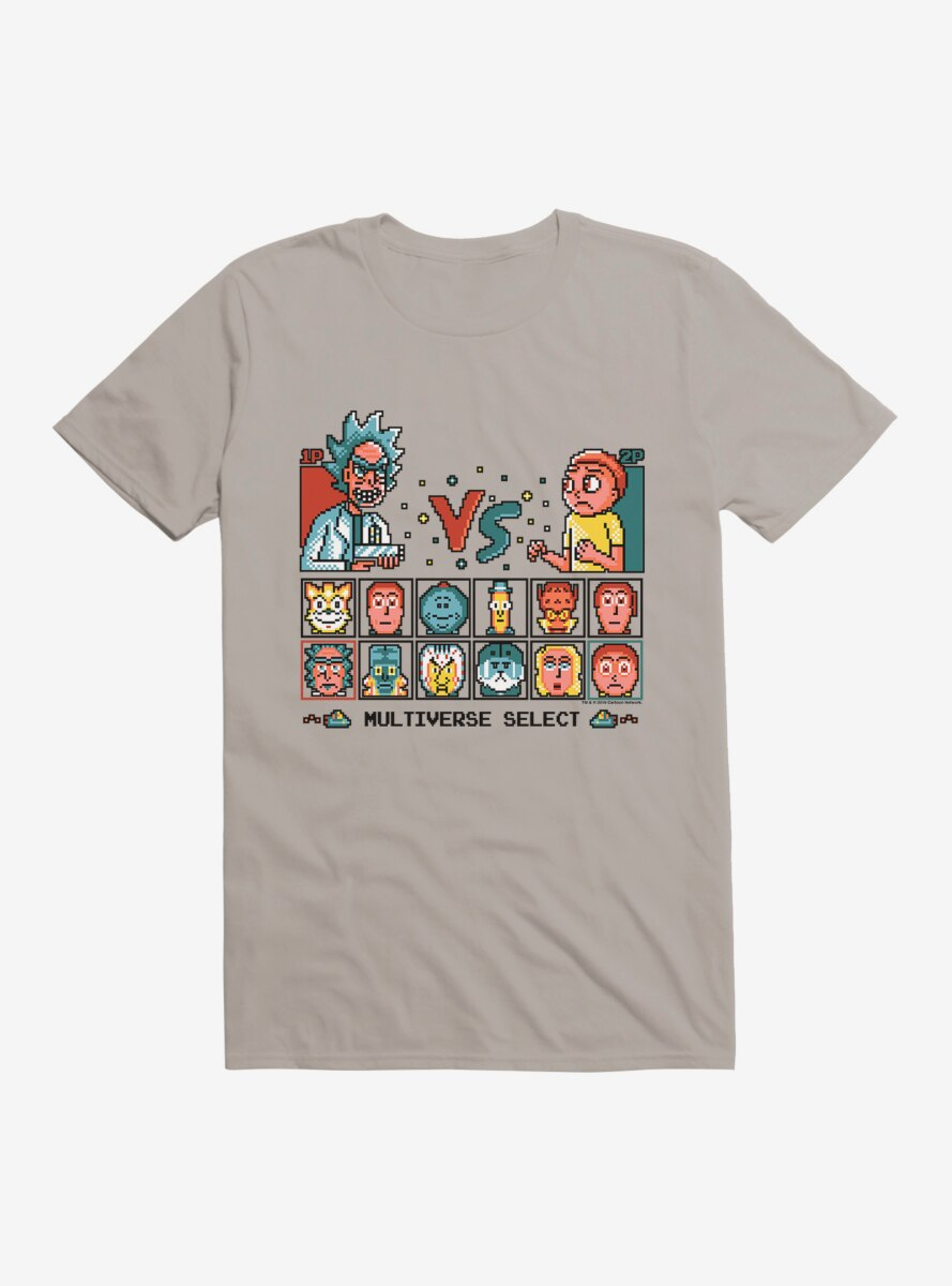 Rick And Morty Multiverse Select T-Shirt