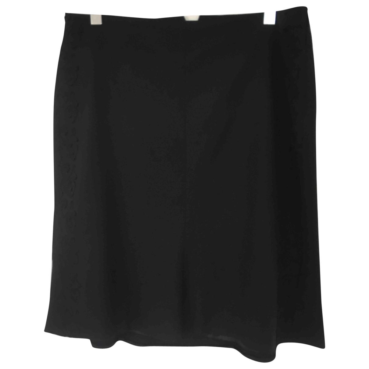 Escada \N Black Wool skirt for Women XL International