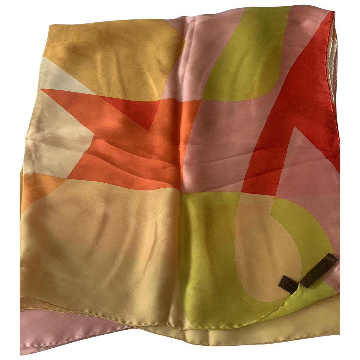 Loewe - Carre   pour femme en soie - multicolore