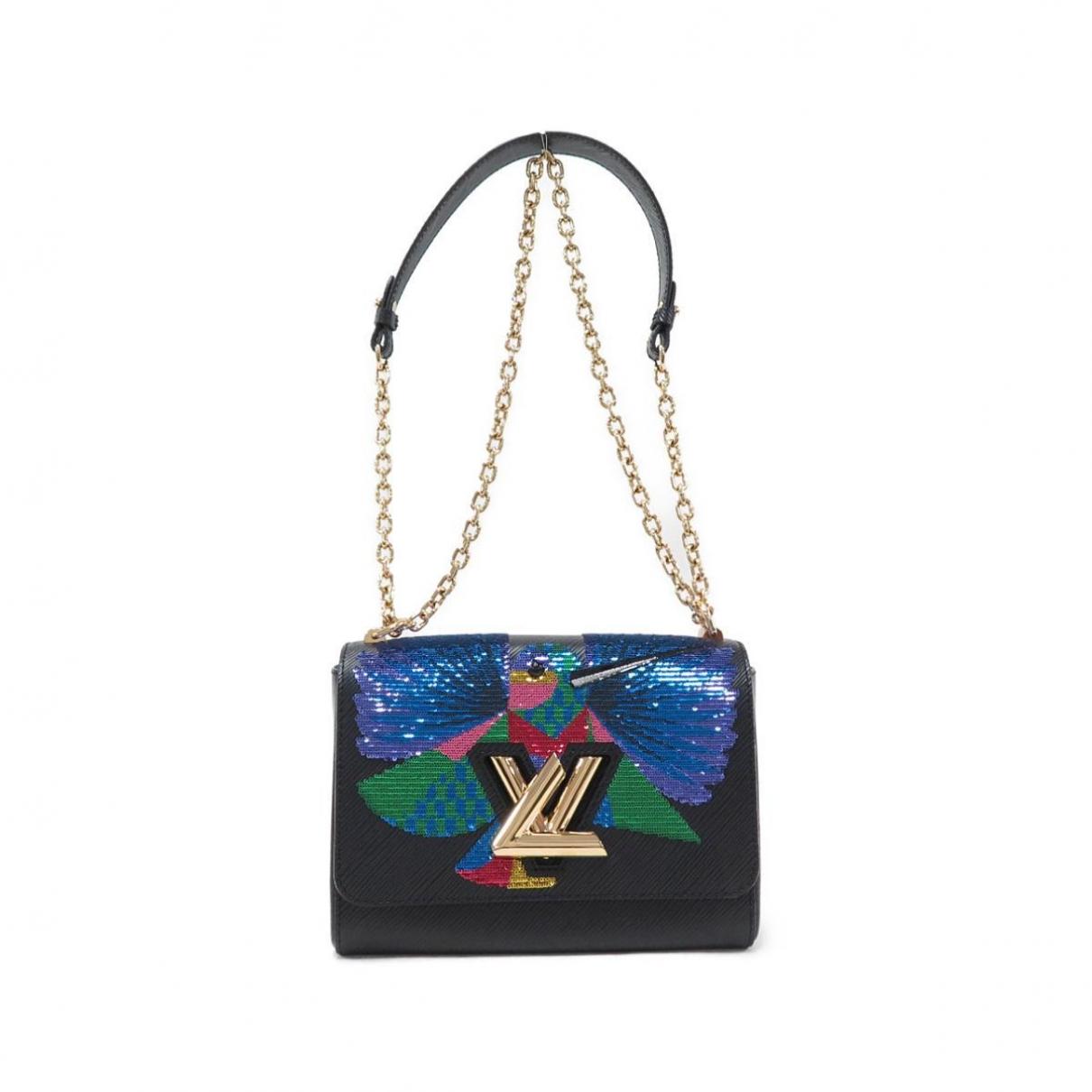 Louis Vuitton Twist Handtasche in  Schwarz Leder