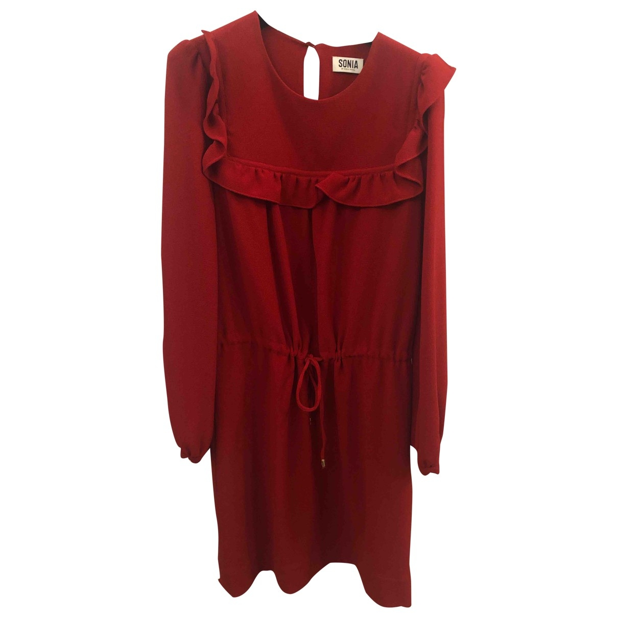 Sonia By Sonia Rykiel \N Kleid in  Rot Polyester