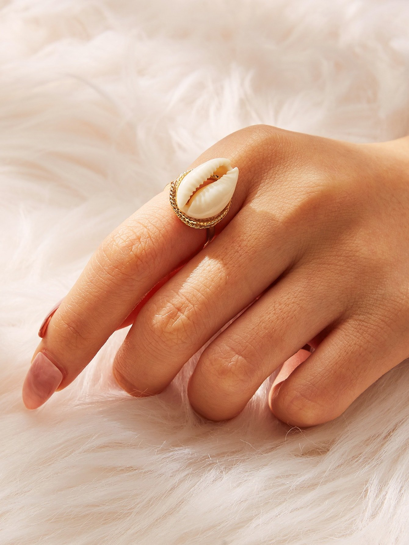 Bohemian Retro Shell Rings Gold Rings Accessories for Women