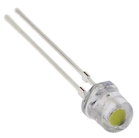 Nichia 3.7 V White LED 5mm Through Hole,  NSDL570GS-K1-D-P9-P10 (10)