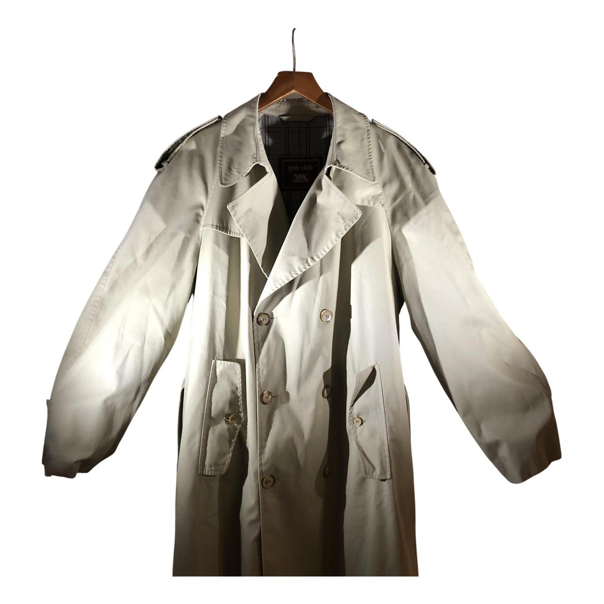 - Manteau Oversize pour homme en coton - beige