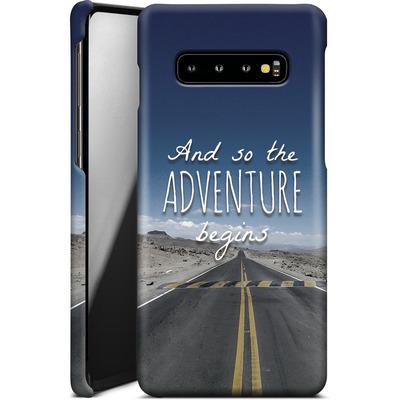 Samsung Galaxy S10 Plus Smartphone Huelle - And so the Adventure Begins von Joel Perroden
