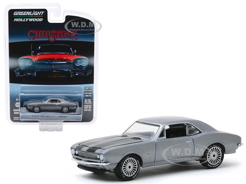 1967 Chevrolet Camaro Gray Metallic with Black Stripes (Buddy Reppertons)