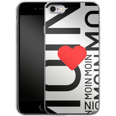 Apple iPhone 6 Silikon Handyhuelle - Moin Moin von caseable Designs