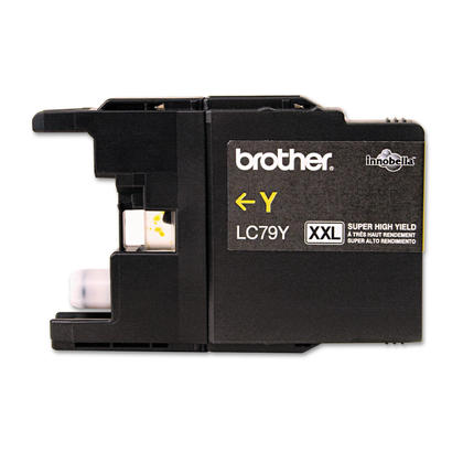 Brother MFC-J5910DW Original Yellow Ink Cartridge, Super High Yield