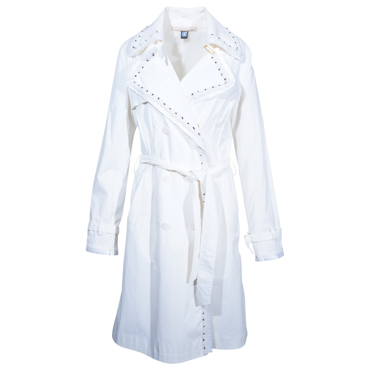 Class Cavalli \N Trench in  Weiss Baumwolle
