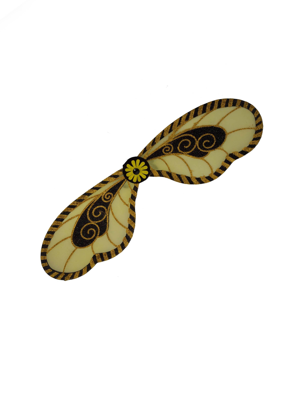 Kostuemzubehor Fluegel Biene Erwachsene Farbe: schwarz/gelb