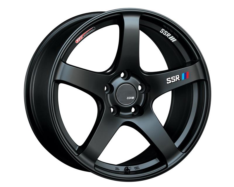 SSR GTV01 Wheel Matte Black 18x8.5 5x100 44mm