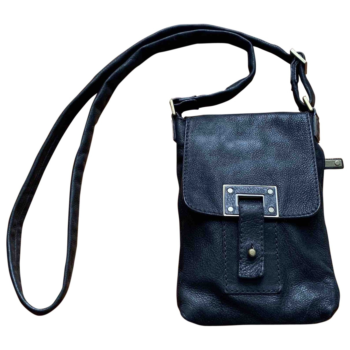 Orciani \N Black Leather bag for Men \N