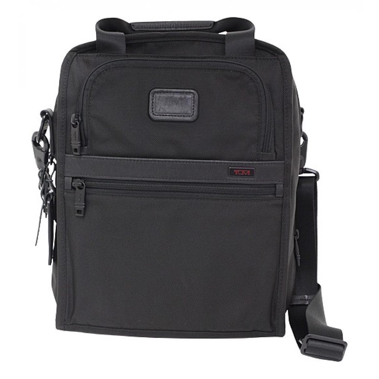Tumi \N Handtasche in  Schwarz Leinen