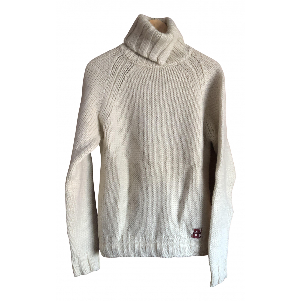 Diesel \N Pullover.Westen.Sweatshirts  in  Beige Wolle