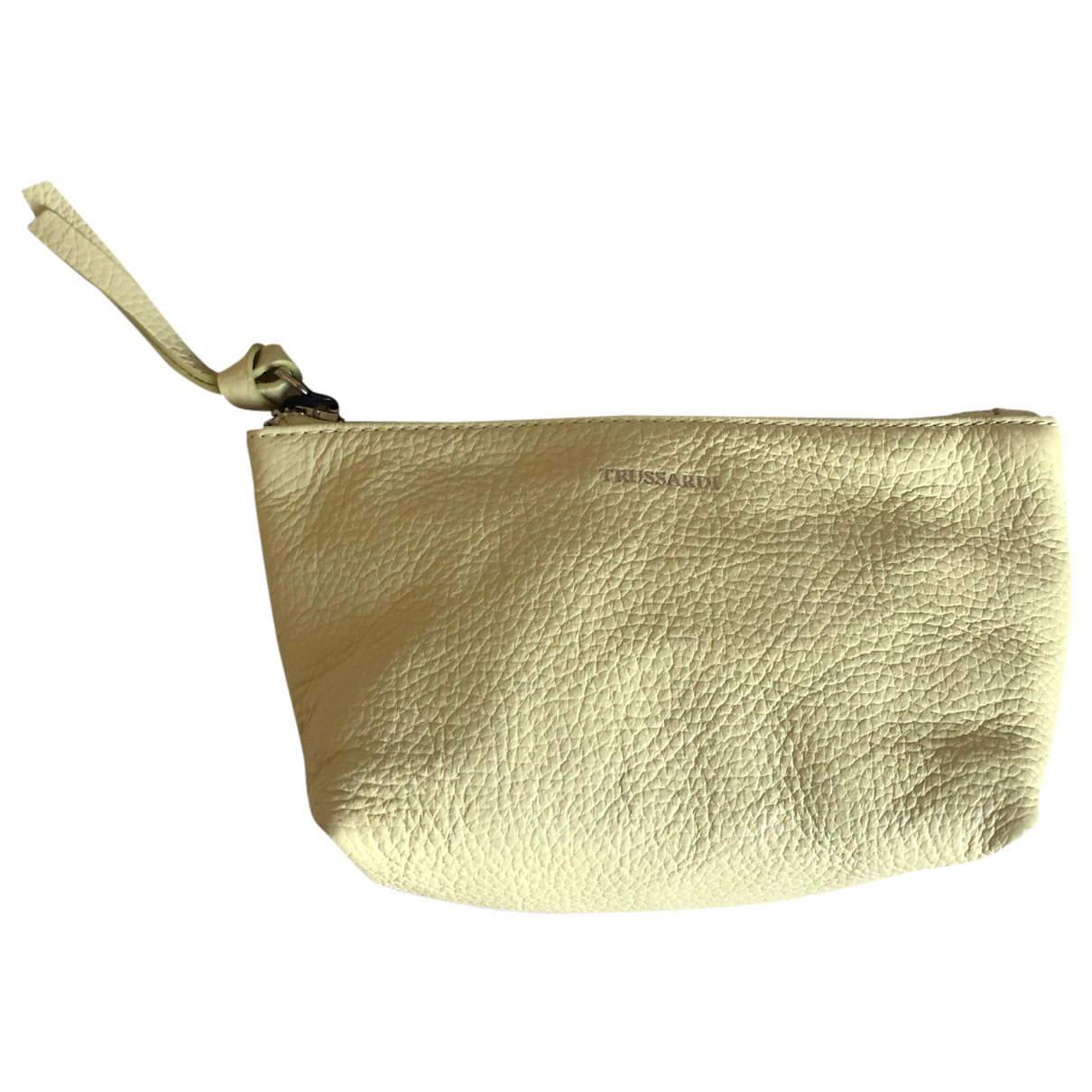 Trussardi N Yellow Leather Purses, wallet & cases for Women N