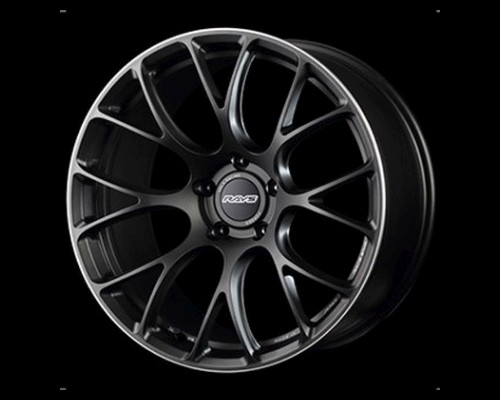 Volk Racing WK6AY45MMK G16 Wheel 20x10 5x112 45mm Matt Gunblack w/ Rim Edge DC