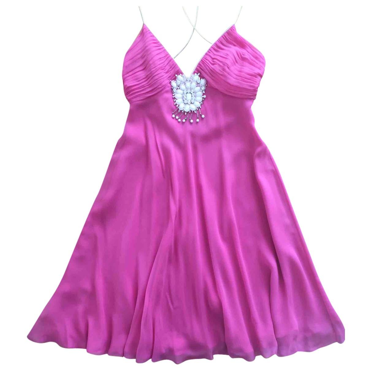 Jenny Packham \N Purple Silk dress for Women 8 UK