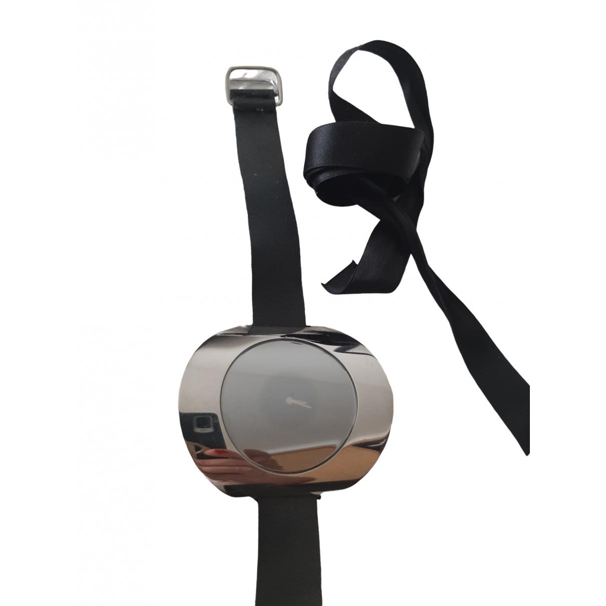 Calvin Klein \N Uhr in  Schwarz Stahl