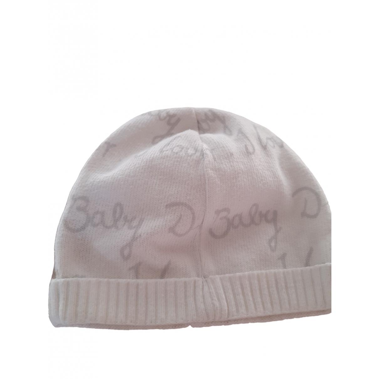 Baby Dior - Chapeaux.Bonnets.Gants   pour enfant en laine - blanc