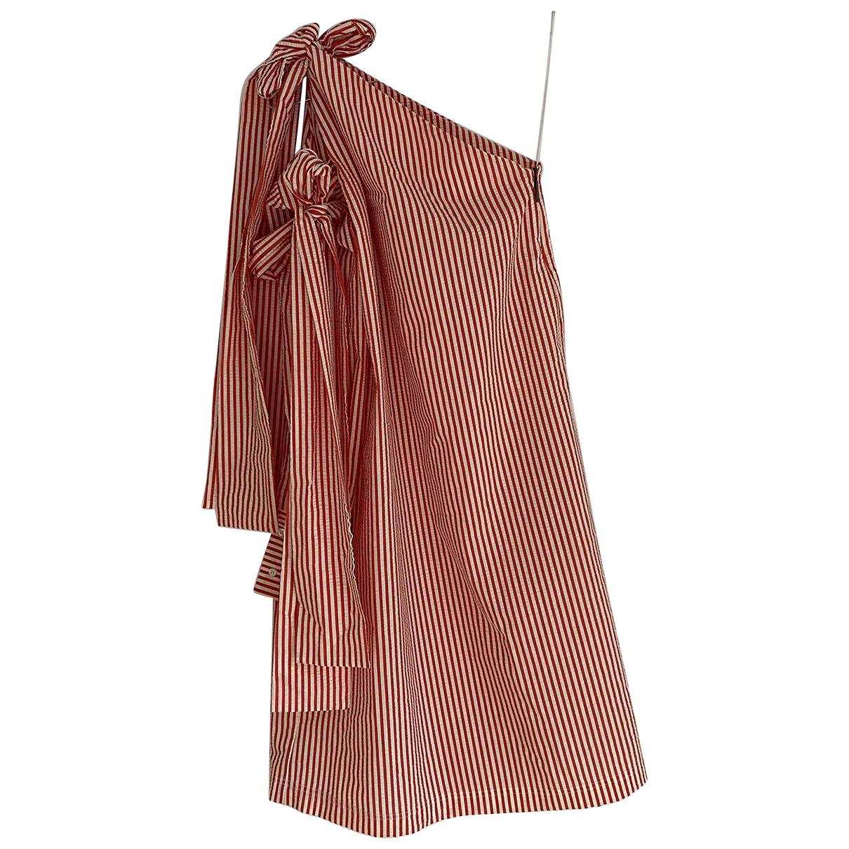 Msgm - Robe   pour femme en coton - multicolore
