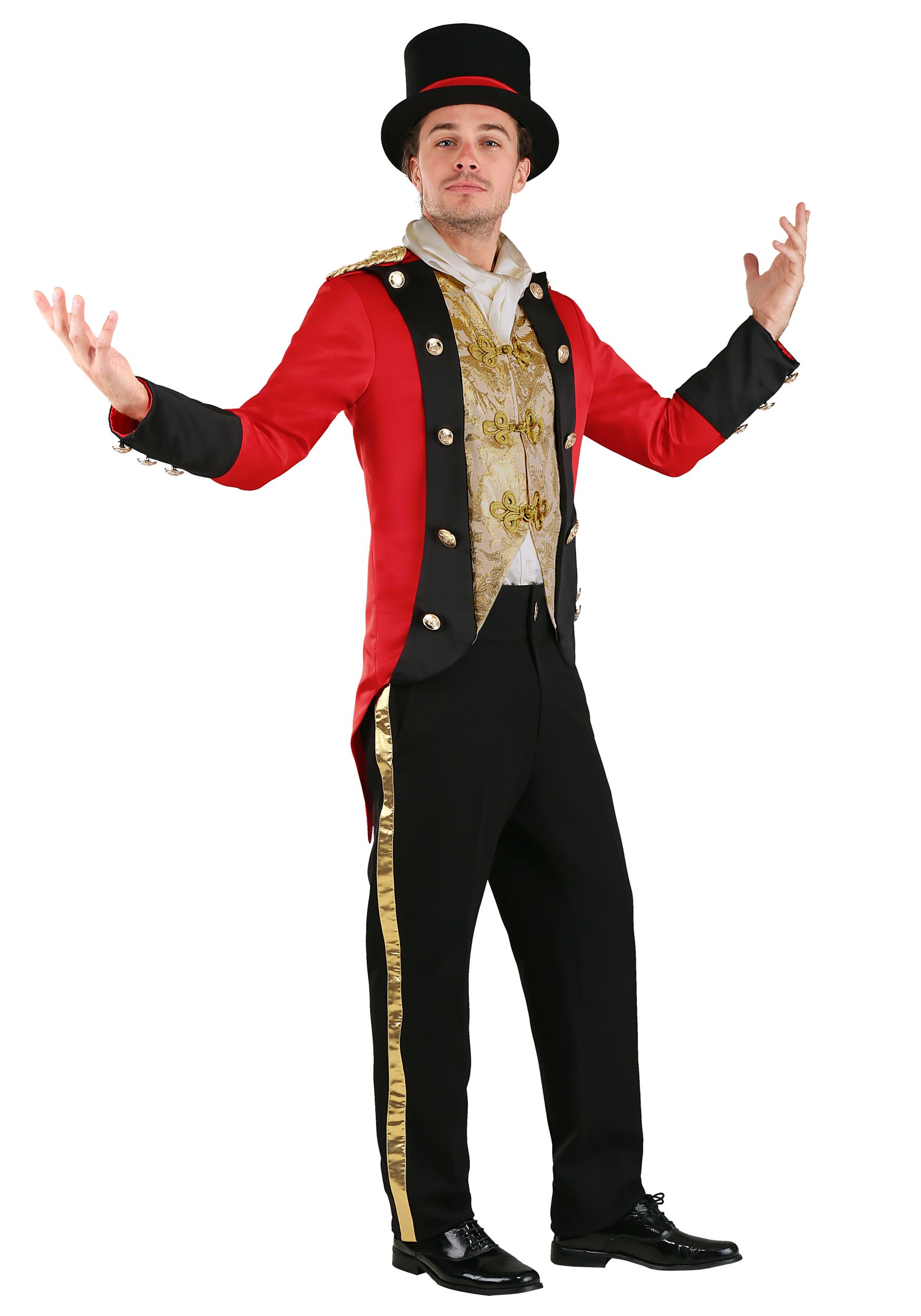 Spotlight Ringmaster Costume for Men