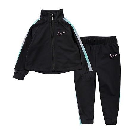 Nike Toddler Girls 2-pc. Legging Set, 4t , Black