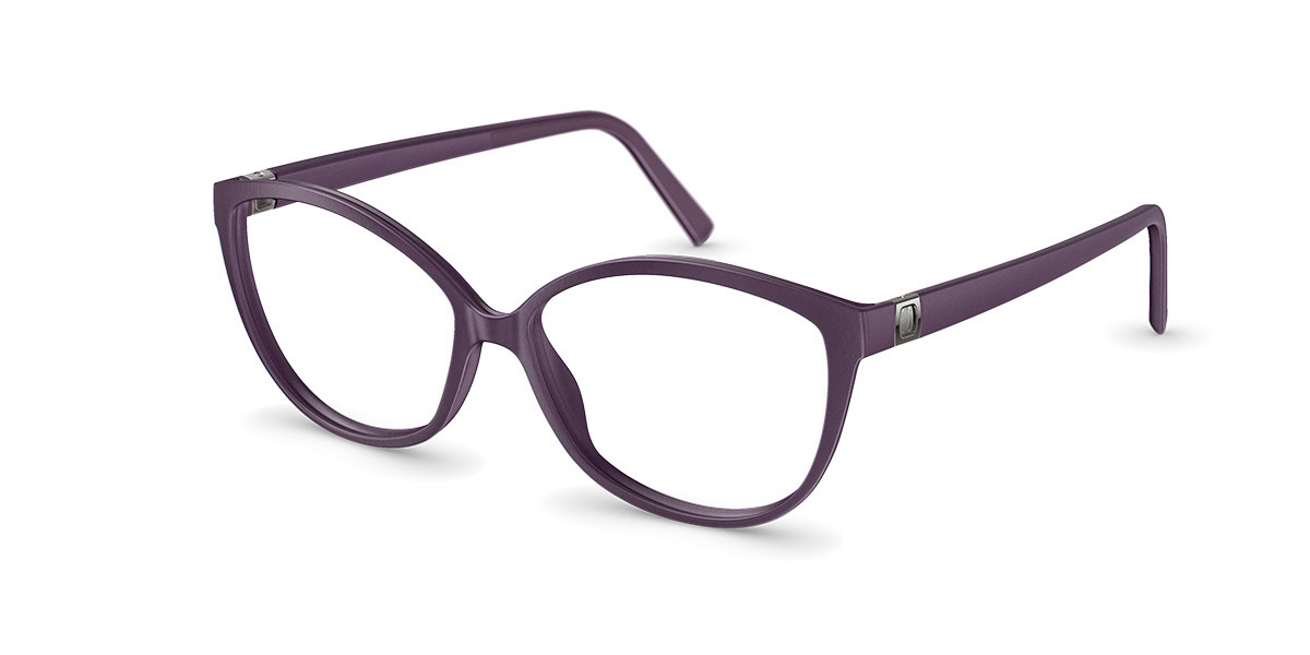 Neubau T086 Greta 4060 Men's Glasses Violet Size 54 - Free Lenses - HSA/FSA Insurance - Blue Light Block Available