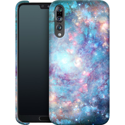 Huawei P20 Pro Smartphone Huelle - Abstract Galaxy - Blue von Barruf