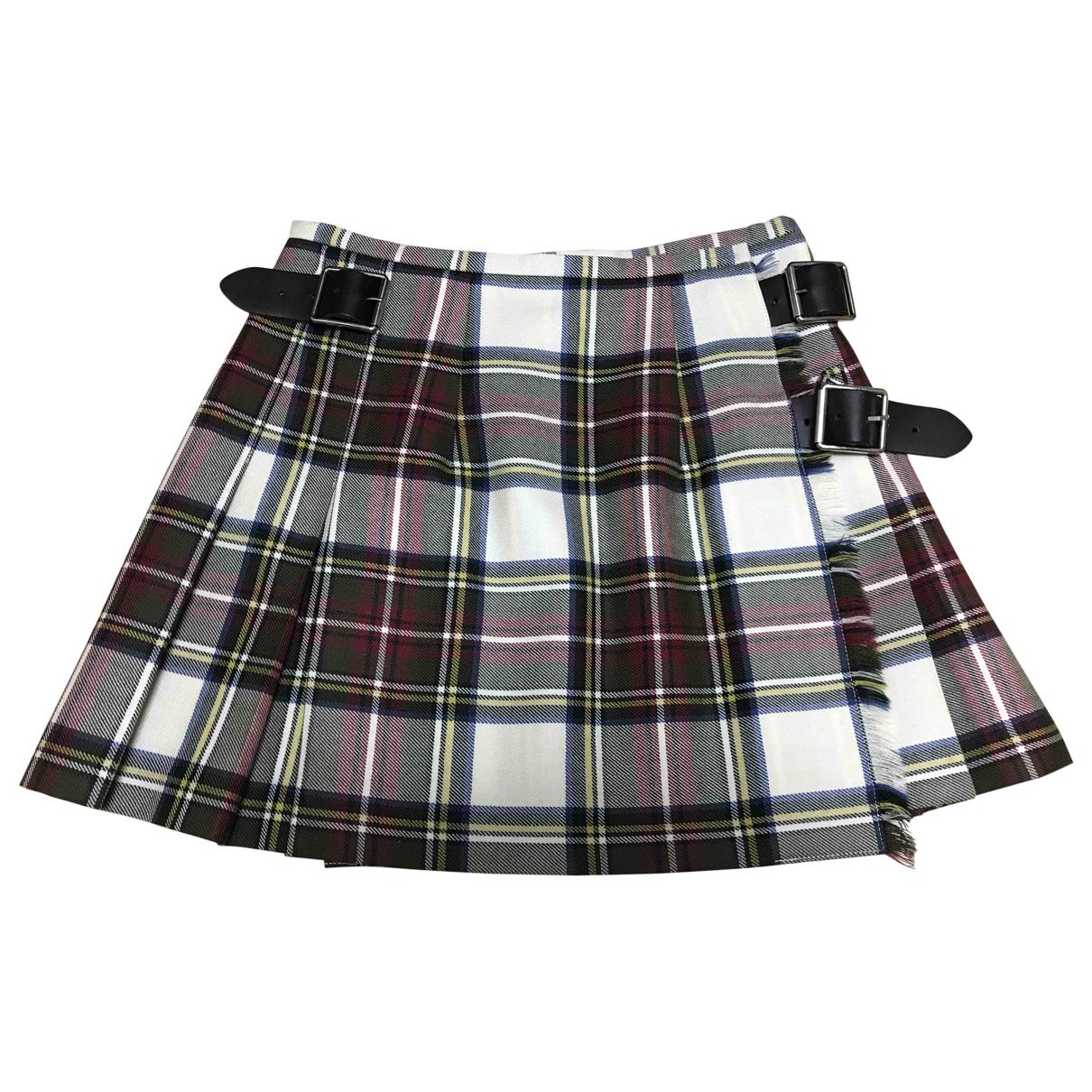 Mini falda de Lana Non Signe / Unsigned
