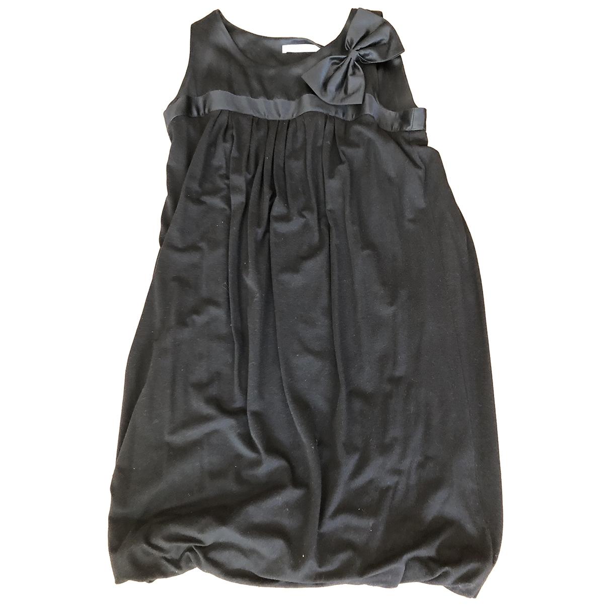 Maje Fall Winter 2019 Black Wool dress for Women 38 FR