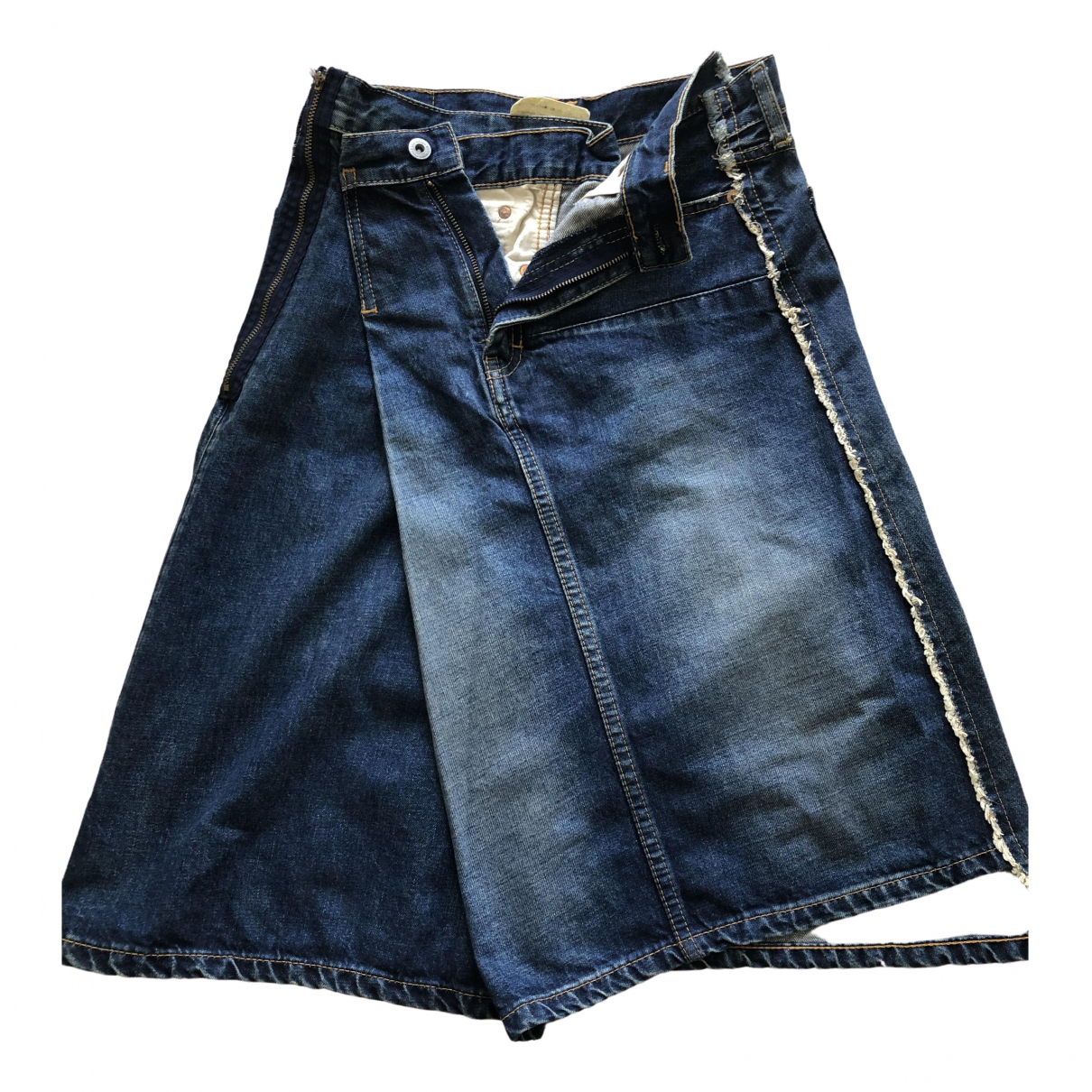 Junya Watanabe \N Blue Denim - Jeans skirt for Women M International