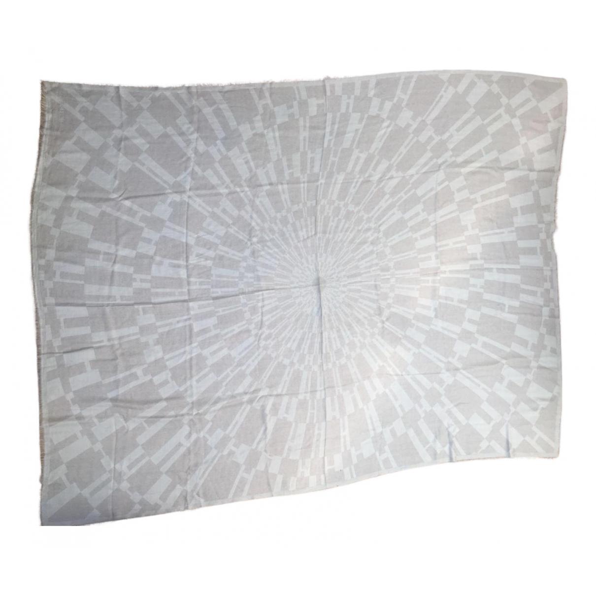 Hermes - Linge de maison   pour lifestyle en laine - beige