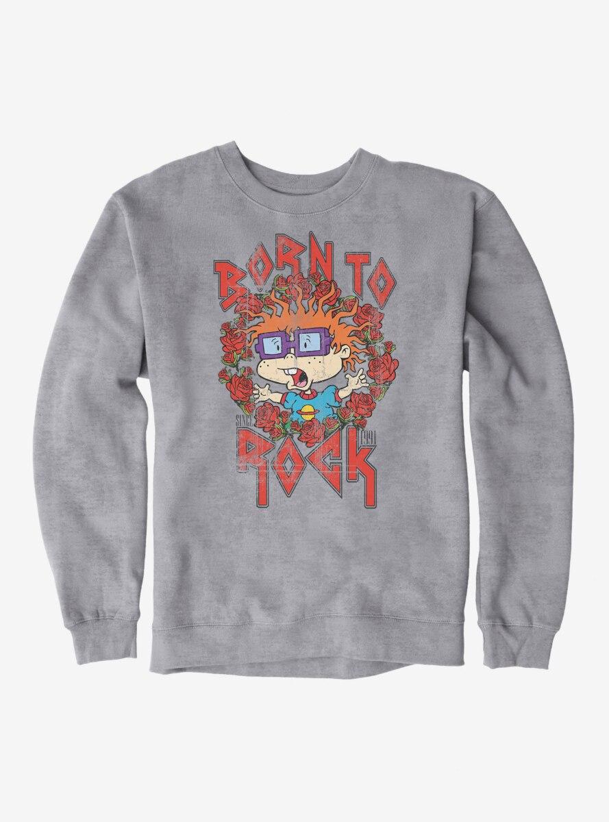 Rugrats Chuckie Born To Rock Sweatshirt