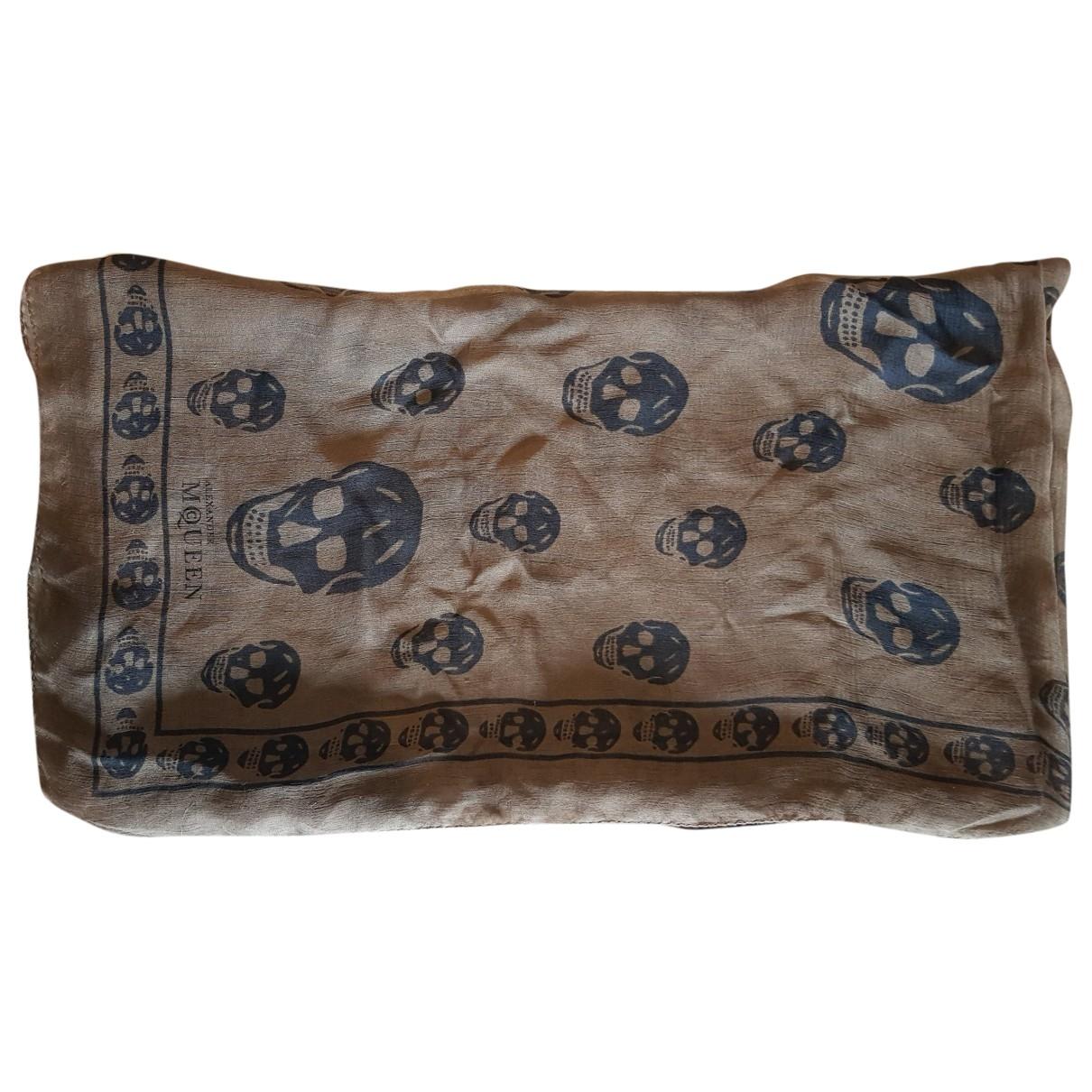 Alexander Mcqueen \N Green scarf for Women \N